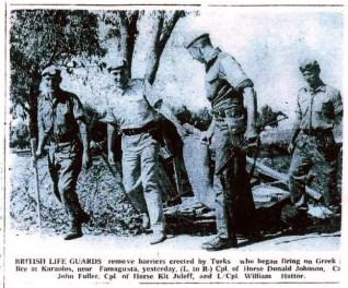 British Life Guards at Karalols