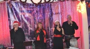 The Singers L-R Anthony McCartney, Jan Parkinson, Dawn Bűyűkertaṣ , Ian Chennell