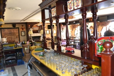 A barmans view