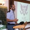Ferhat Atik gives a presentation