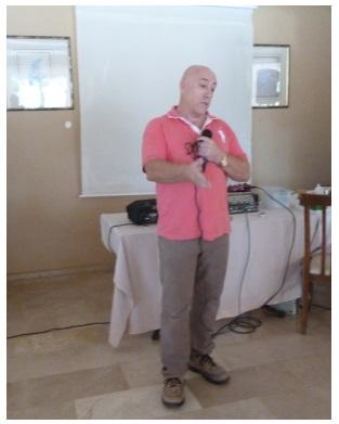 James Butler gives a tea talk