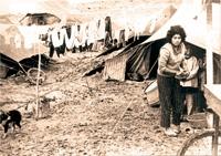 Living as a refugee