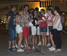 More in the singing contest