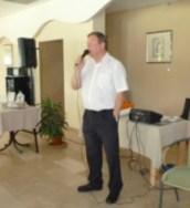 Steve Sydenham gives a tea talk