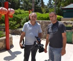 BRT TV camera crew