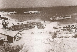 Landing at Escape Beach 1974