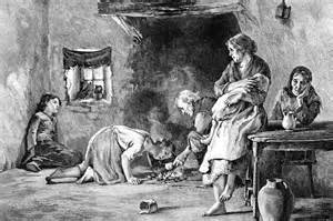 The Irish famine 1845