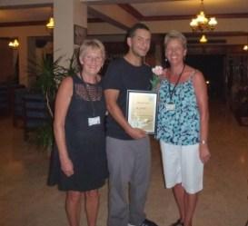 Carole, Ahmet and Sue