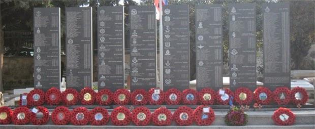 British War Memorial Kyrenia 2010