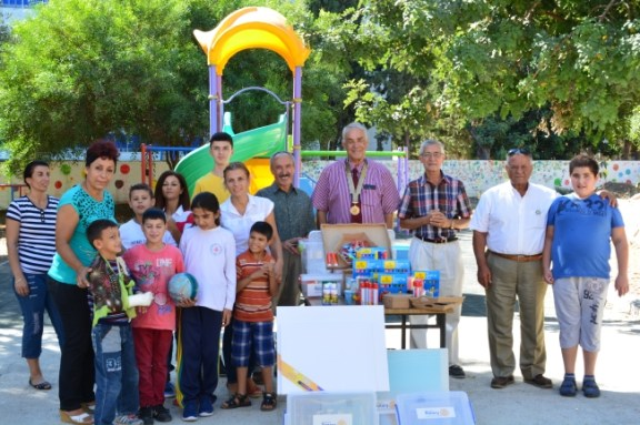 Rotary Club of Kyrenia presentation to Karakum Special Needs School