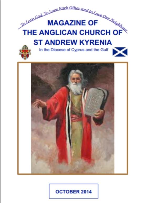 St Andrews Church  October magazine