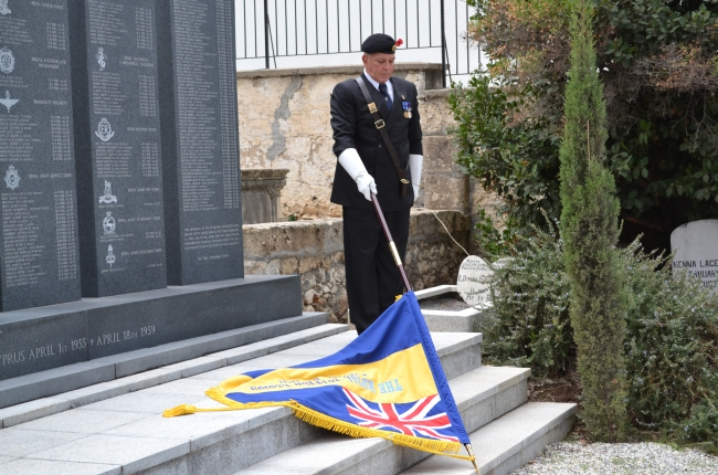 Remembrance Day 2011 - The Standard is lowered