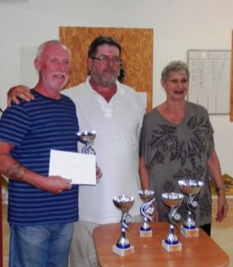 Bill Armstrong, John and Maureen Swayne