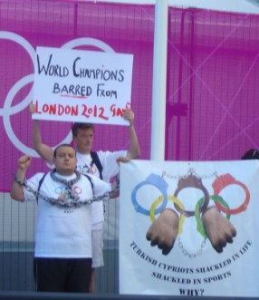Campaigning for our athletes to participate in the London Olympics