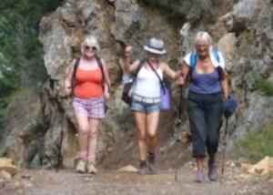 Carmel Woodall, Judith Boyle and Sheila Lane
