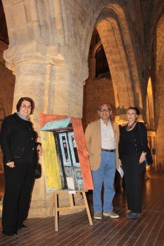 Cyprus inspired art exhibition by Benice Gümrükçüoğlu