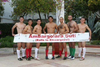 Highlighting the embargoes faced by our footballers