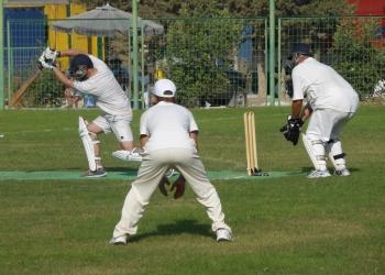 Playing the ball image