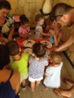 Under 4's learning to tell the time