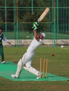 batsman is from the Girne team & the fielders are Famagusta.