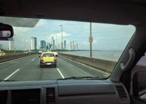 Heading to Panama City