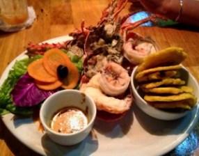 Sexy Lobster at La Fogata