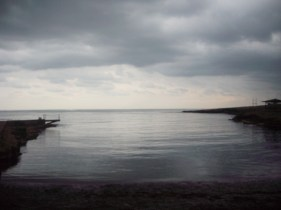 Shayna Beach at daty break