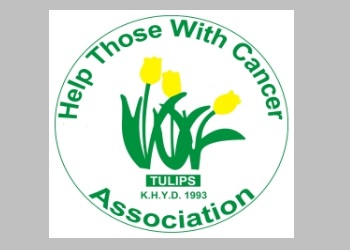 Tulips/HTWCA receive a donation from Sally Gabb