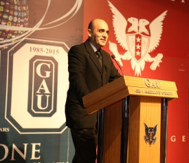 GAU Acting Rector - Prof. Dr. Sadık Ülker sml
