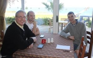 l-r Nick Hill, Jamie Jackson, Ryan Watts part of Team Boy Wanderers