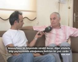 Engin Dervişağa and Chris Elliott