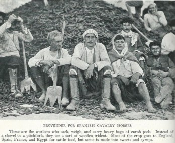 "Village life ""general farm labourers"" Photo by National Geographic 1928"