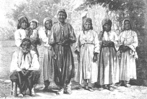 Villagers in ancient Cyprus