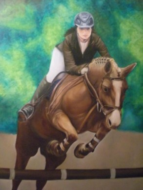 Painting - Horse and Rider