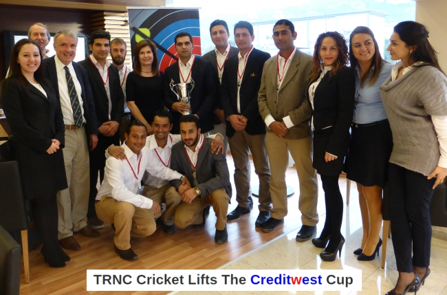 TRNC Cricket Lifts The Creditwest Cup