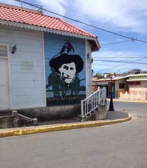 artwork on wall San Juan del Sur
