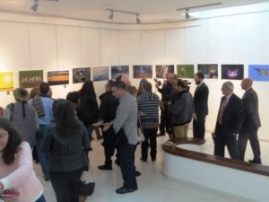 Visitors to Exhibition
