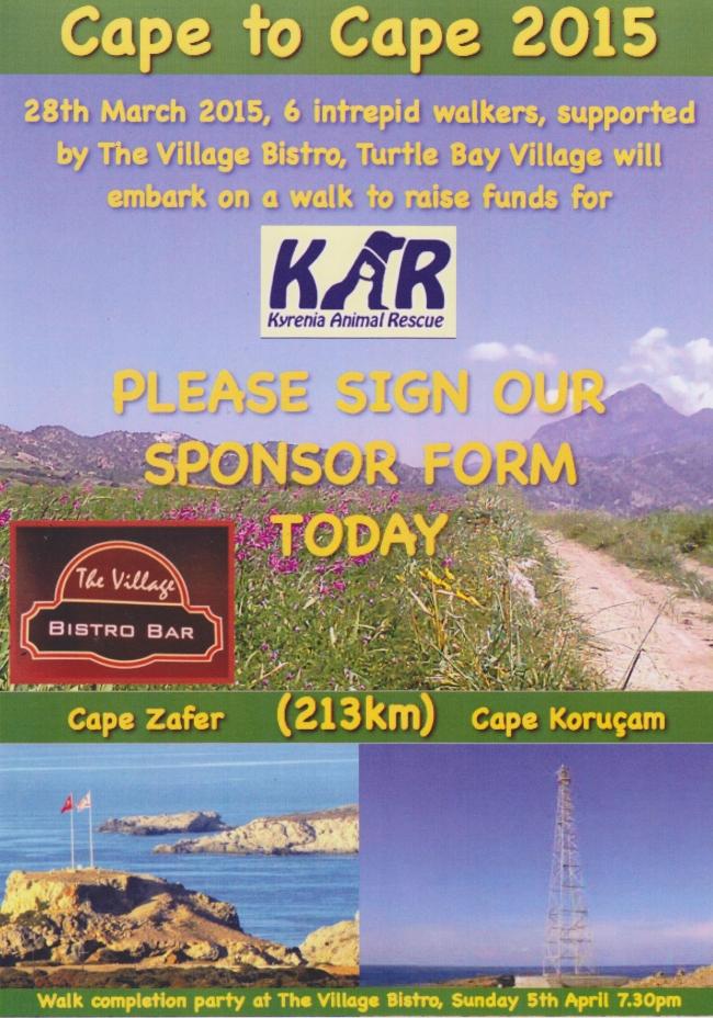 Cape to Cape walk for KAR