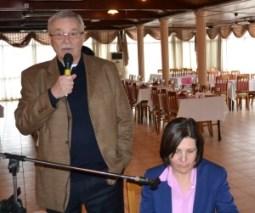 Heinz Nauroth welcomes Dr Sibel Siber