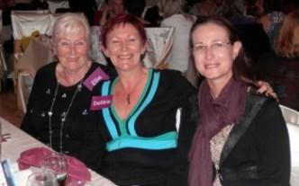 Ellie, Debbie and friend