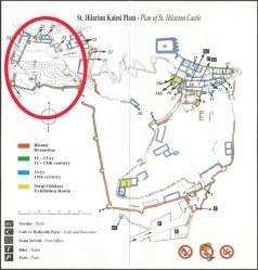 St Hillarion map location 3