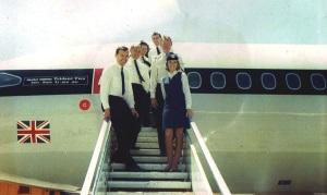 BA Trident Crew