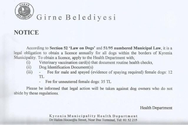 Dog Registration advice