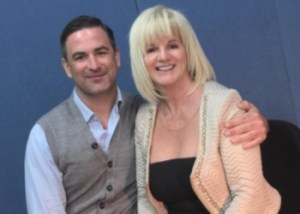 Marc Bannerman and Denise Phillips