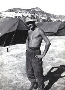 Bob at Happy Valley 1956