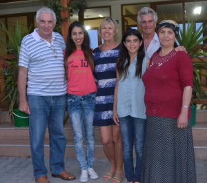 Dilara Restaurant with the family 2