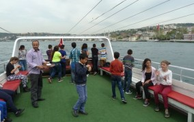 SOS children on a boat trip