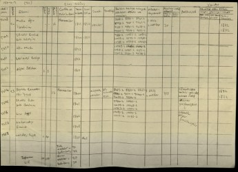 This 1878 census document shows that a Bosnian family were recorded in Lurucina. Ramadan son of Yusuf was born in 1840.