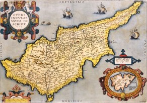 A Cyprus map of 1573