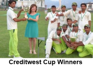 Creditwest Cup winners